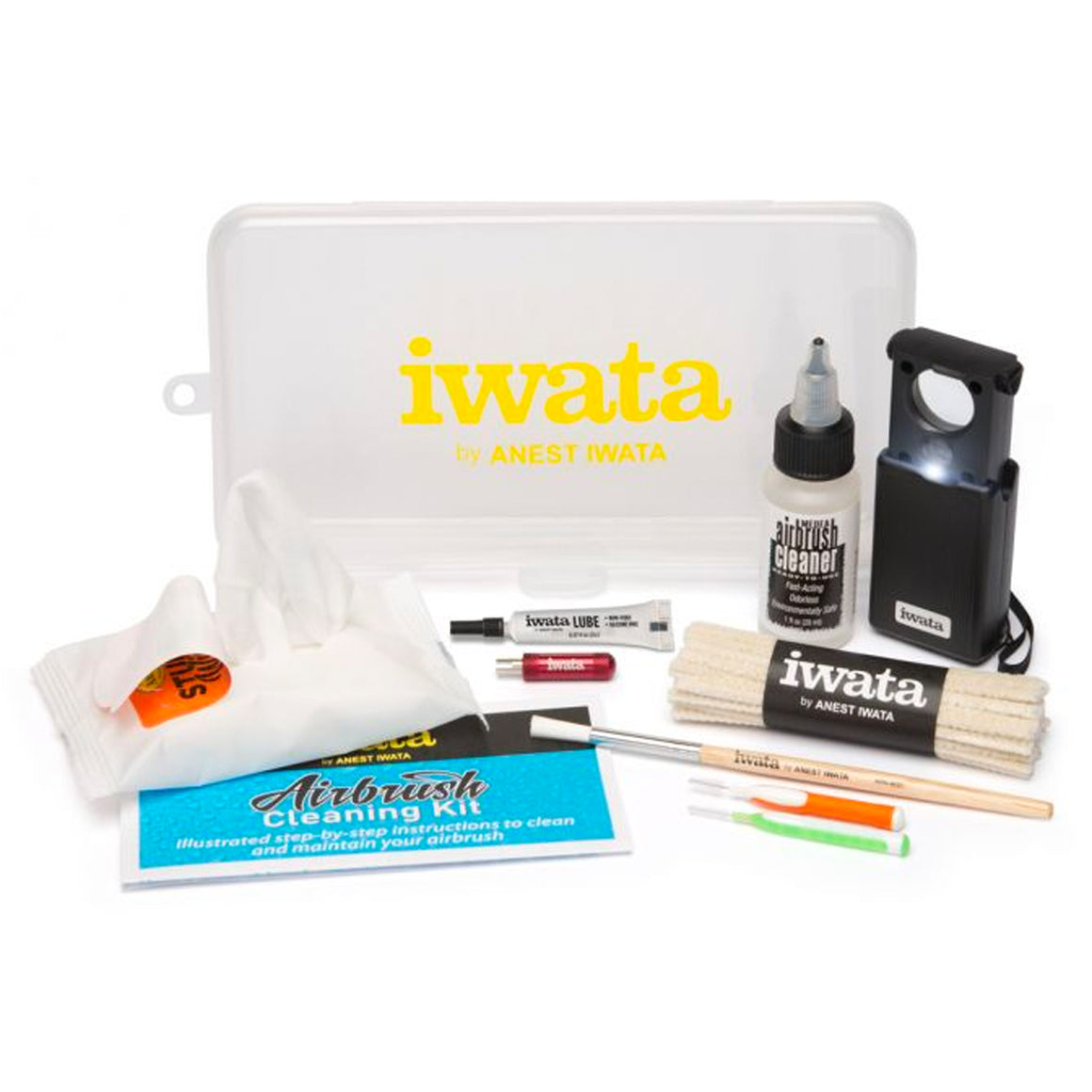 Airbrush: Iwata Airbrush Cleaning Kit