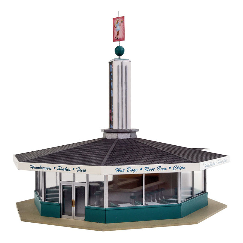 HO Scale: Donnie's Drive-In