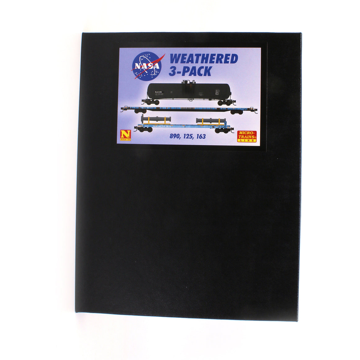 N Scale: NASA Rail Equipment 3 Pack - Weathered