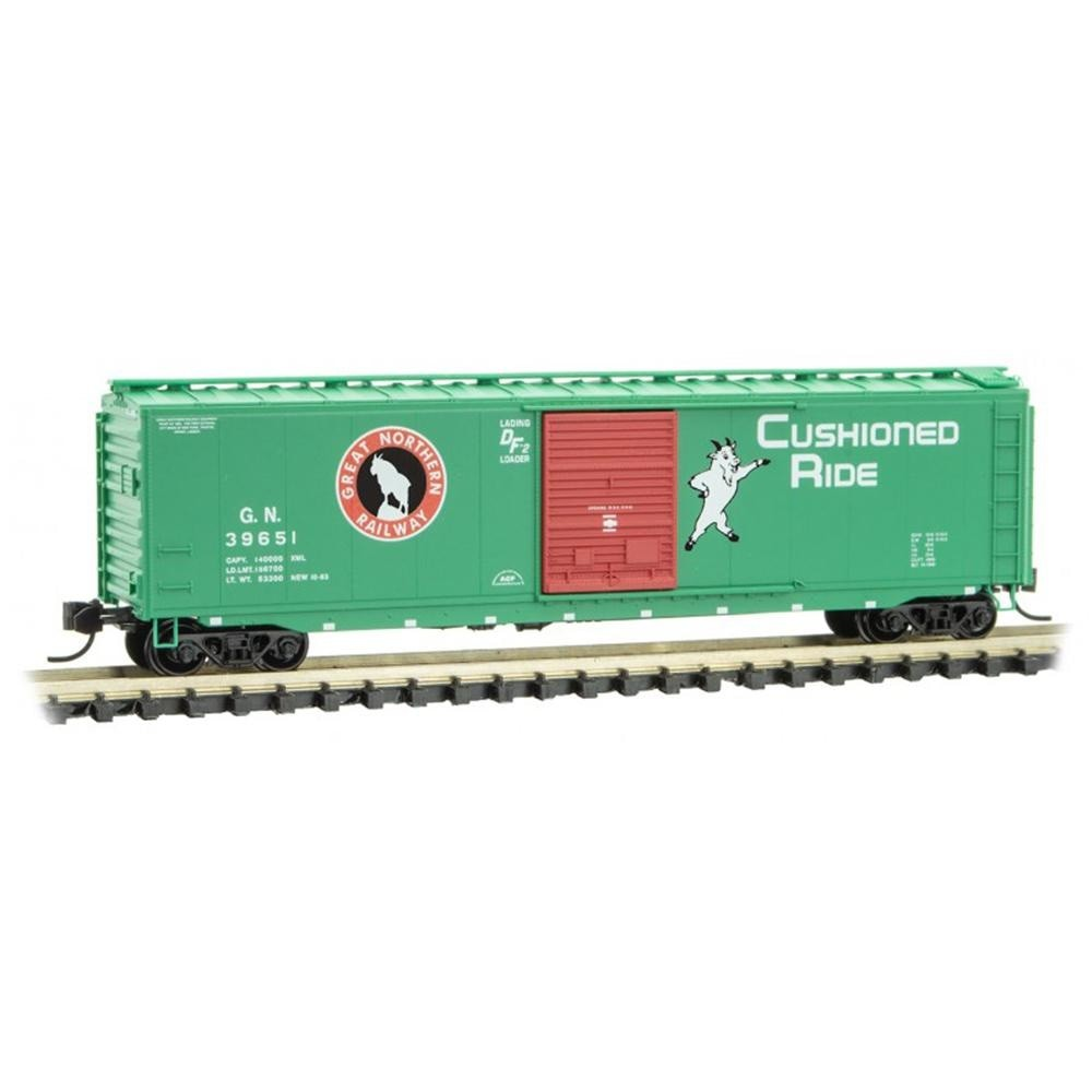 N Scale: 50' Standard Boxcar - Great Northern