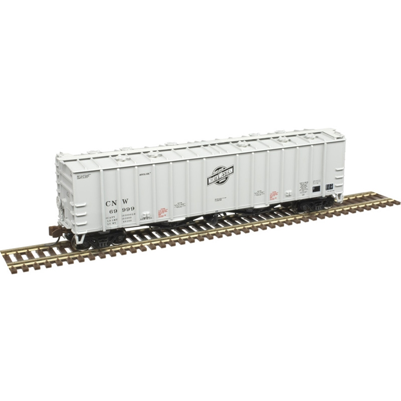 N Scale: 4180 Airslide Covered Hopper - Chicago & Northwestern
