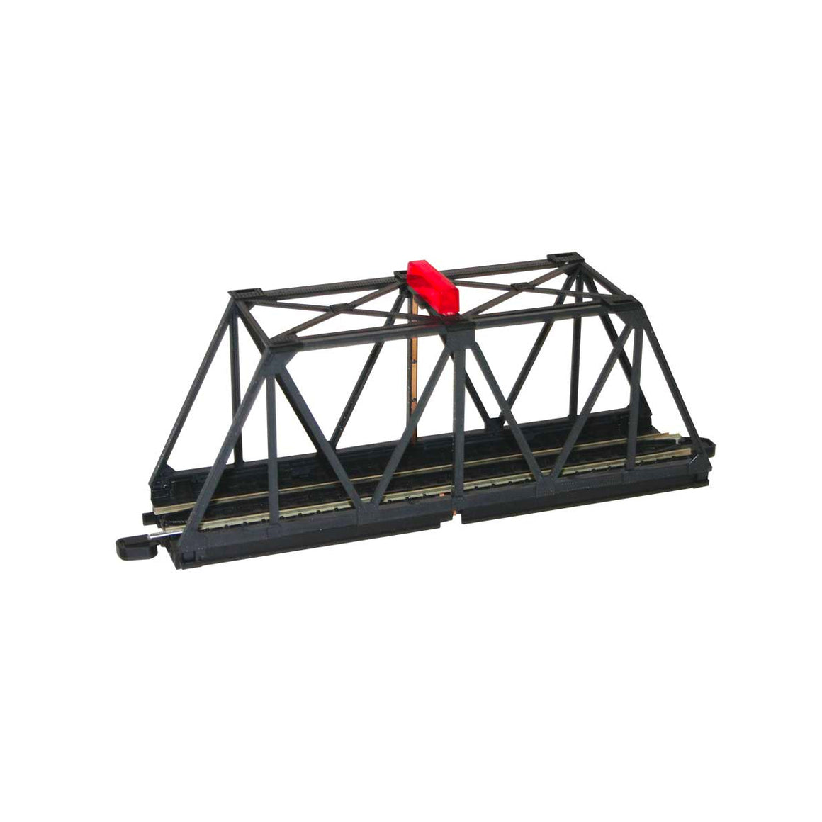 HO Scale: E-Z Track Truss Bridge with Blinking Light