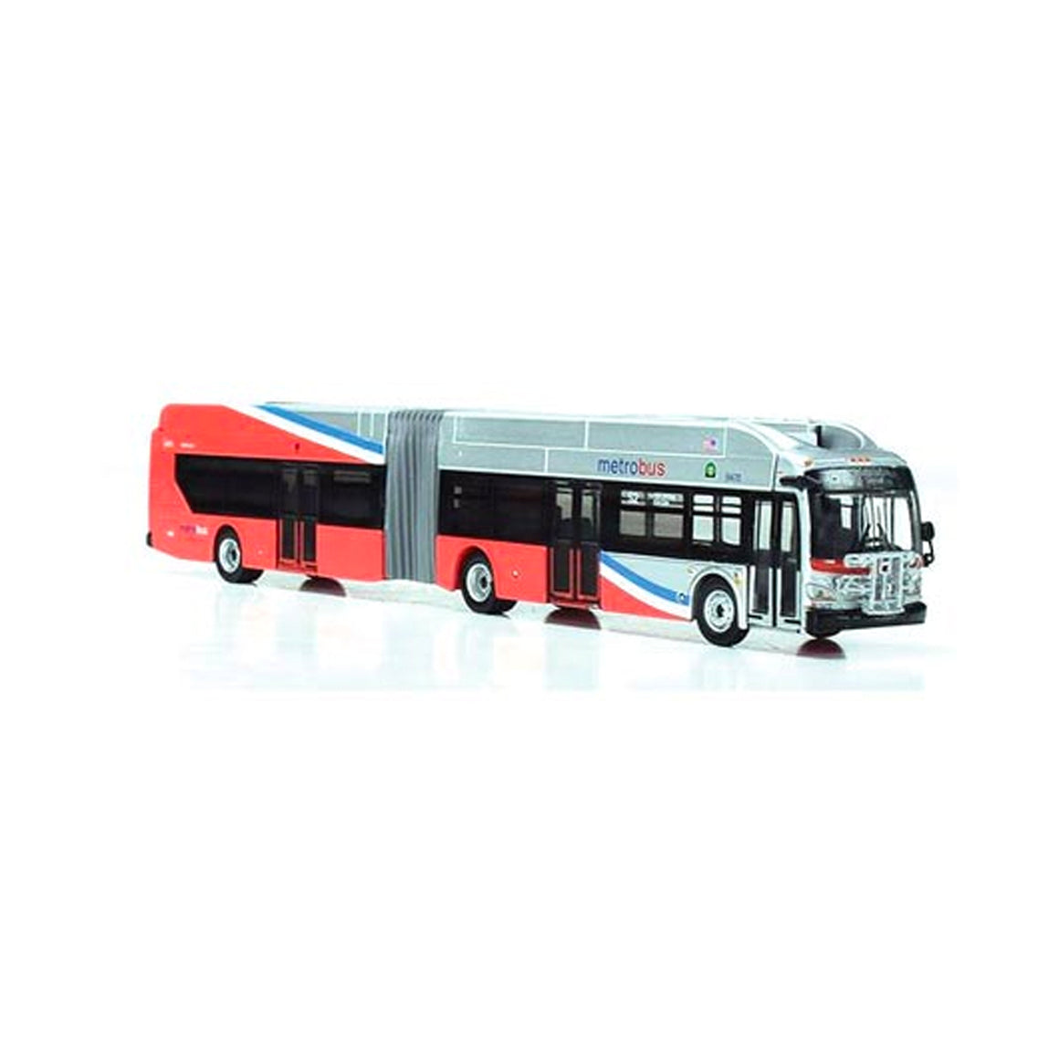 HO Scale: New Flyer Excelsior Articulated Bus - Metro Washington 'Silver Springs Station'