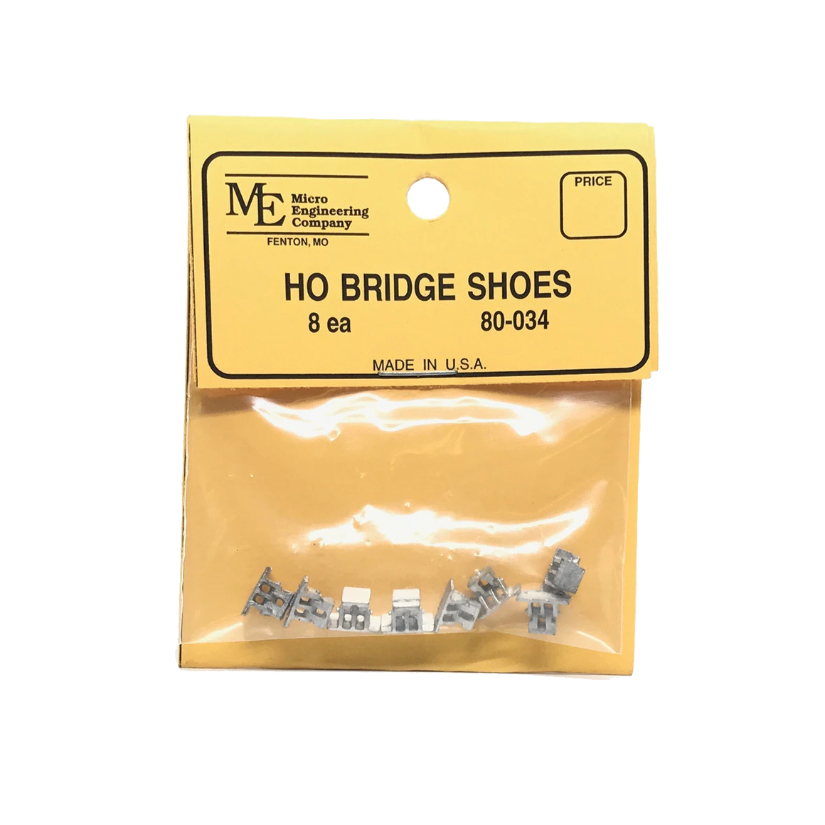 HO Scale: Bridge Shoes - Qty 8