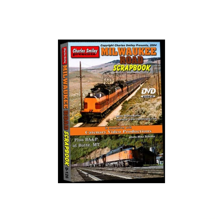 DVD: Milwaukee Road Scrapbook