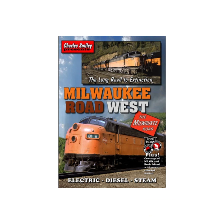 DVD: Milwaukee Road West, the Long Road to Extinction