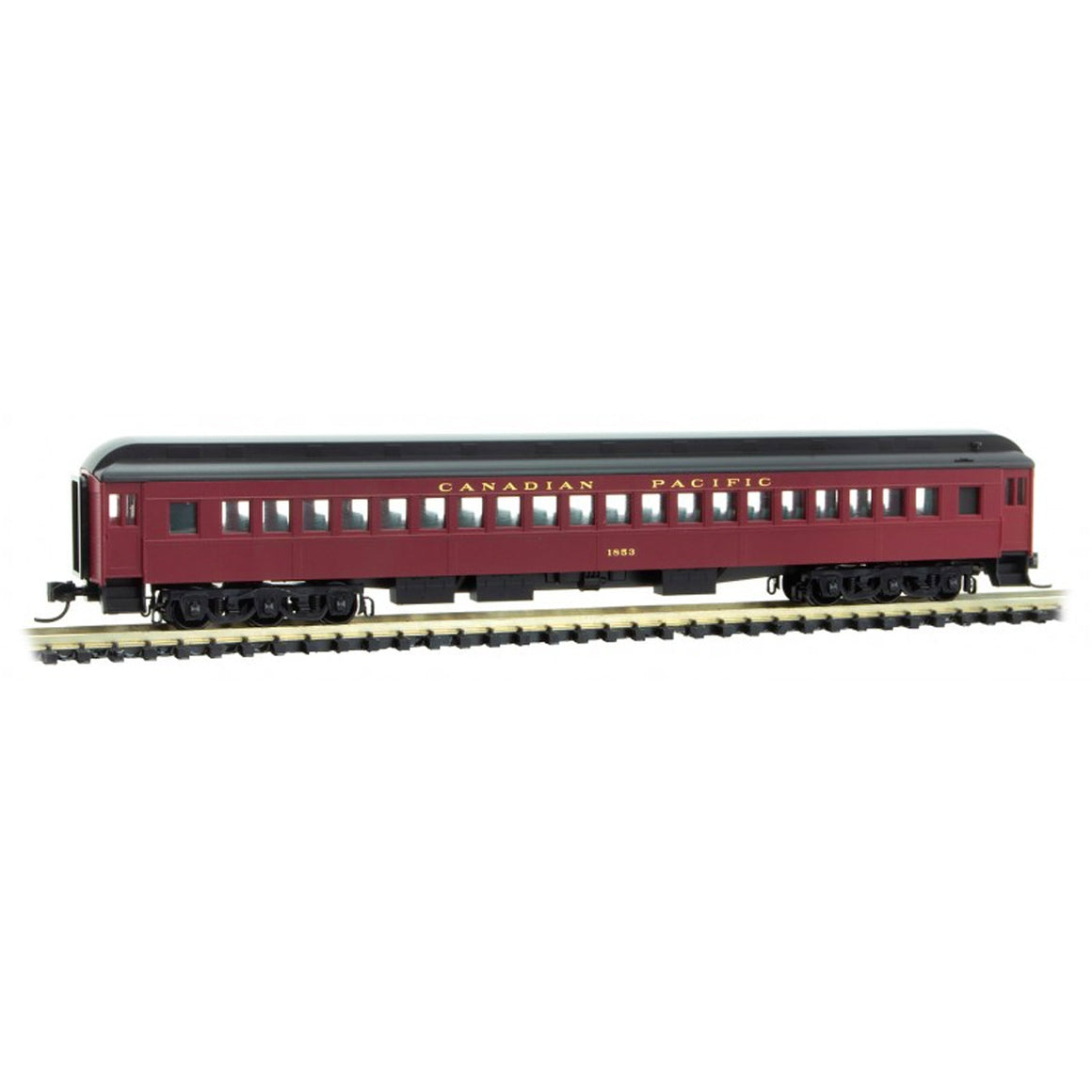 N Scale: 78' Heavyweight Single-Window Coach - Canadian Pacific