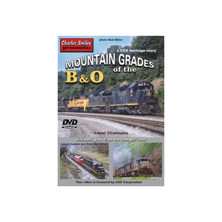 DVD: Mountain Grades of the B&O