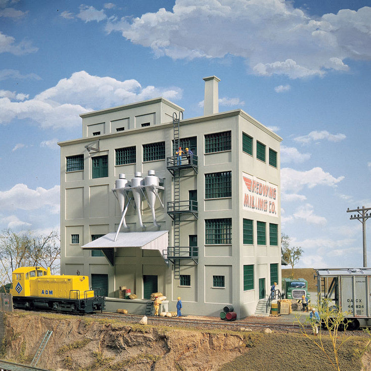 HO Scale: Red Wing Milling Co. - Kit