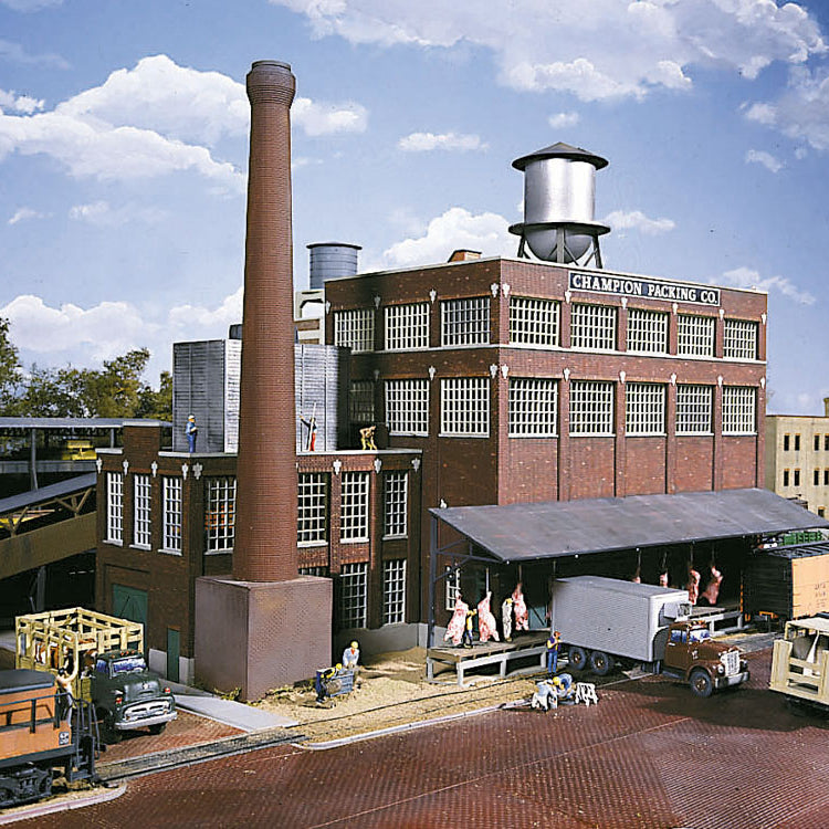 HO Scale: Champion Packing Plant - Kit