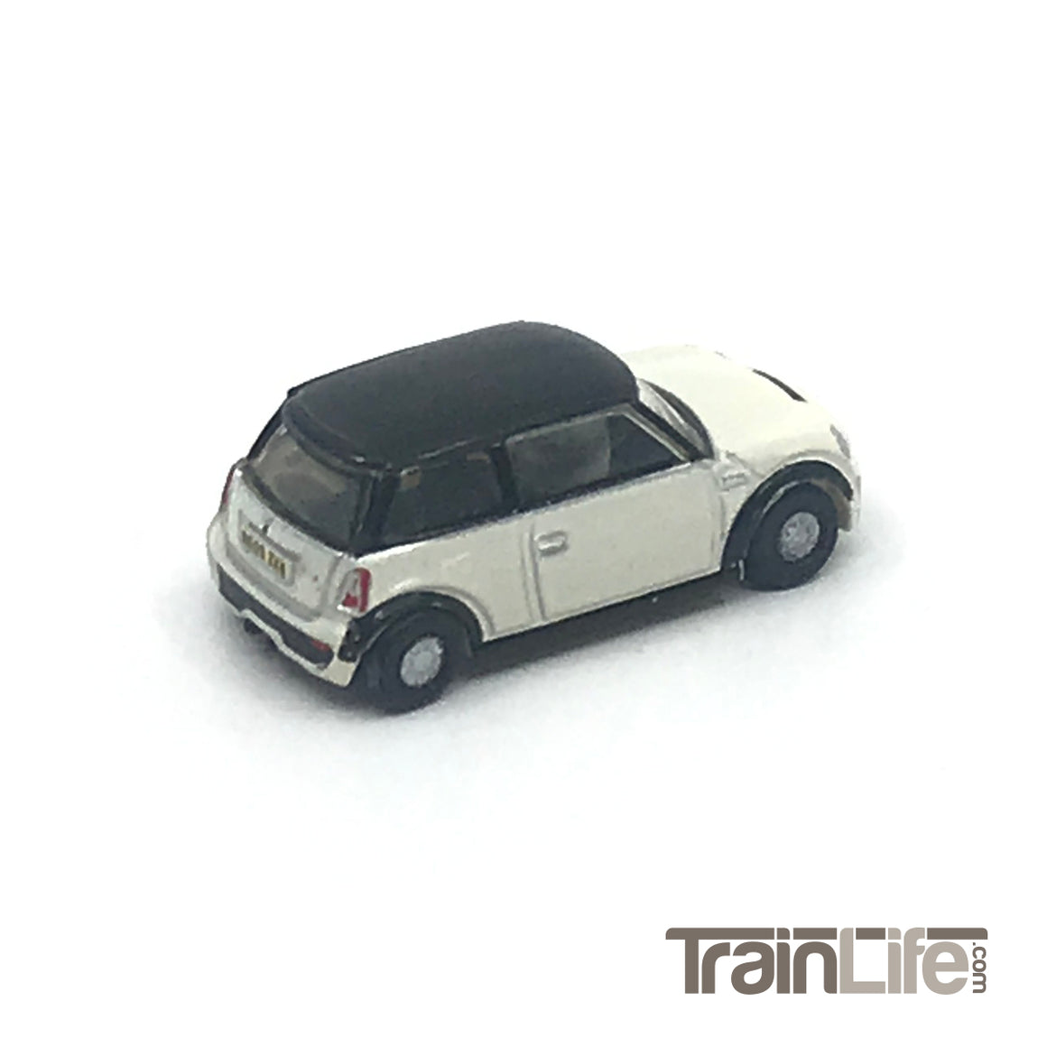 N Scale: Austin Mini 2000s - Pepper White