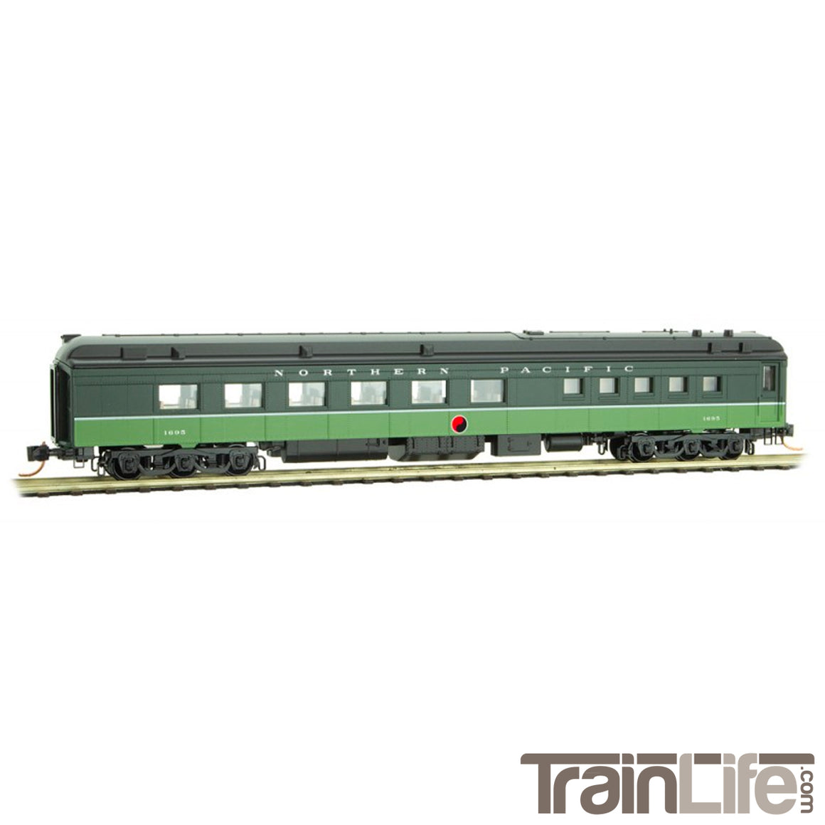 N Scale: 70' Heavyweight Diner Car - NP