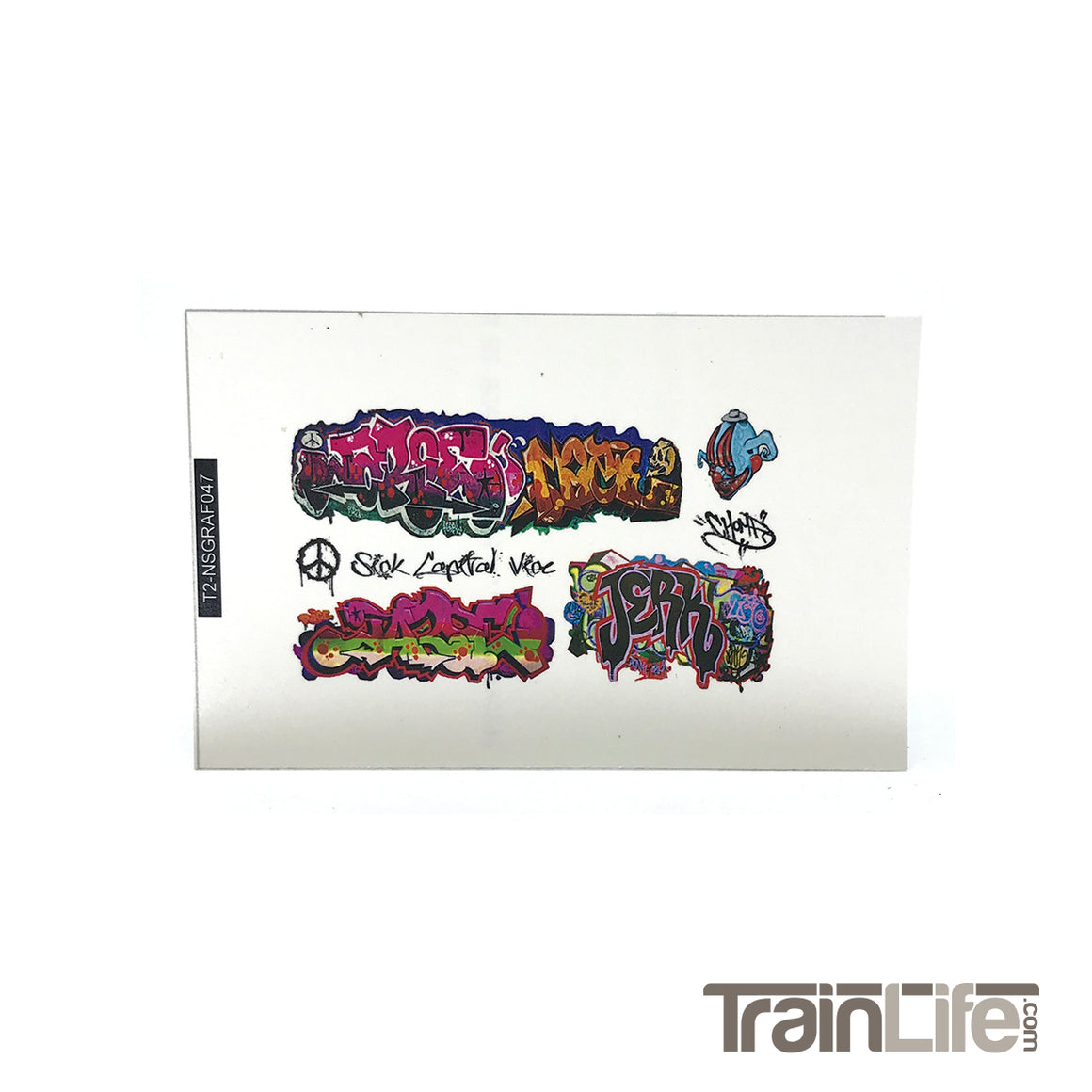 N Scale: Graffiti Decal Sets
