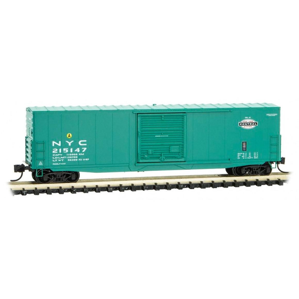 N Scale: 50' Standard Box Car - New York Central