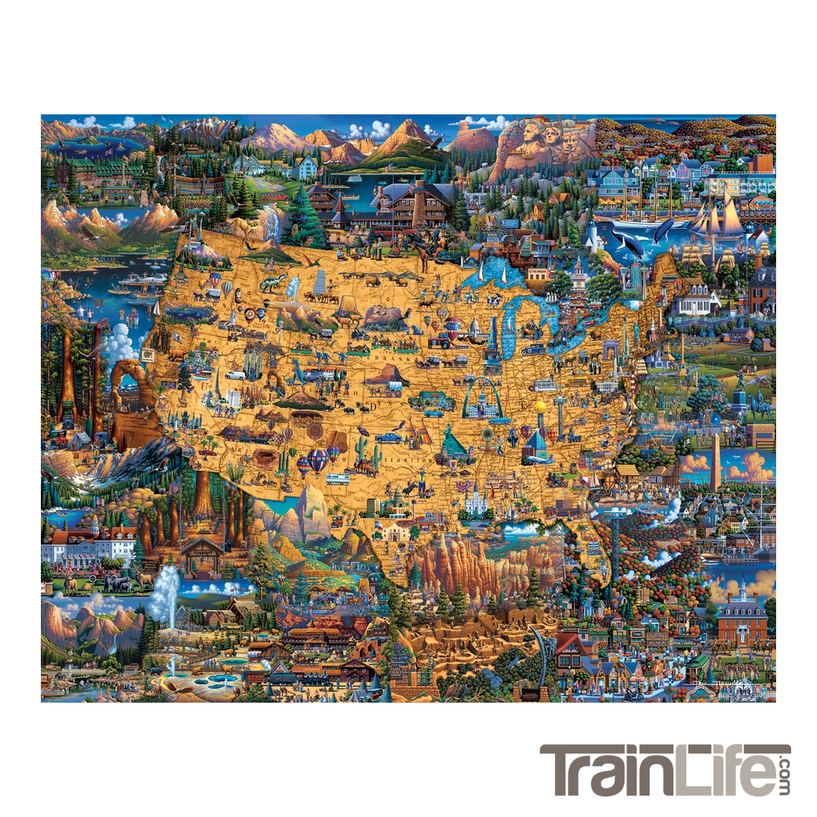 Puzzle: National Parks - Dowdle