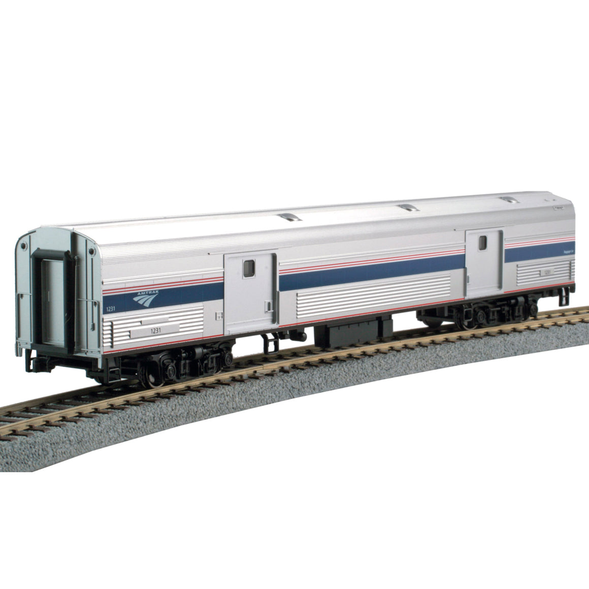 HO Scale: Amtrak Baggage Car - Phase VI