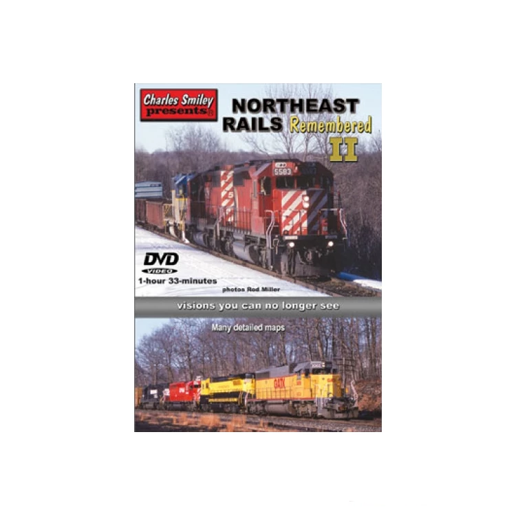 DVD: Northeast Rails Remembered II