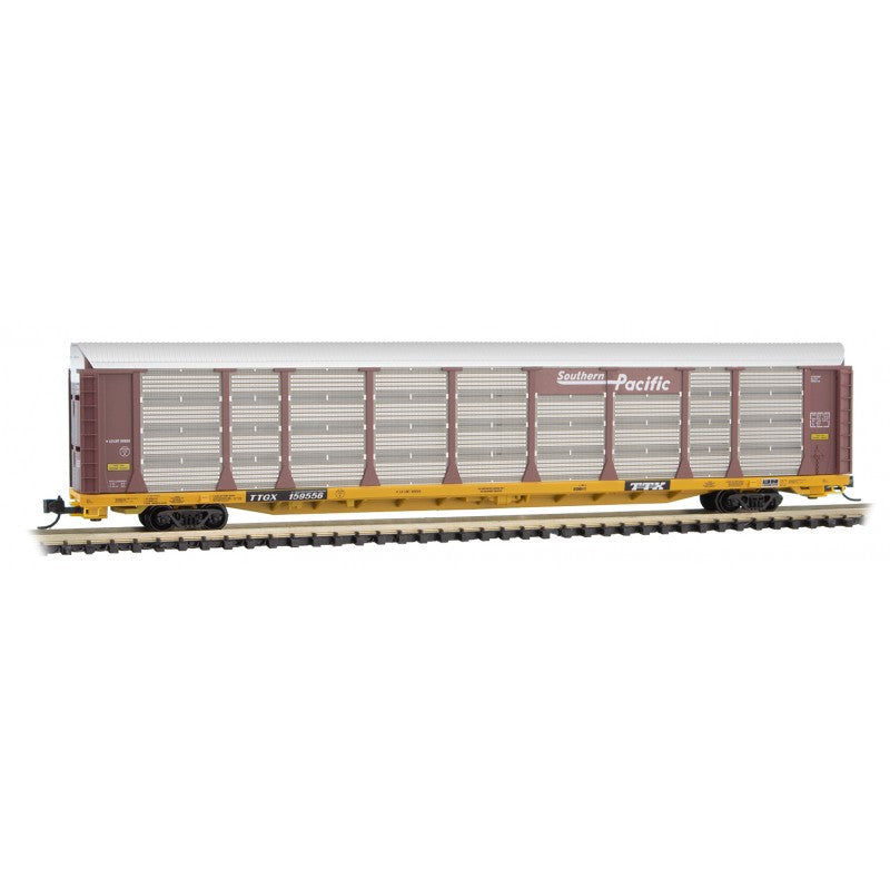N Scale: 89' Tri-Level Closed Autorack - Southern Pacific
