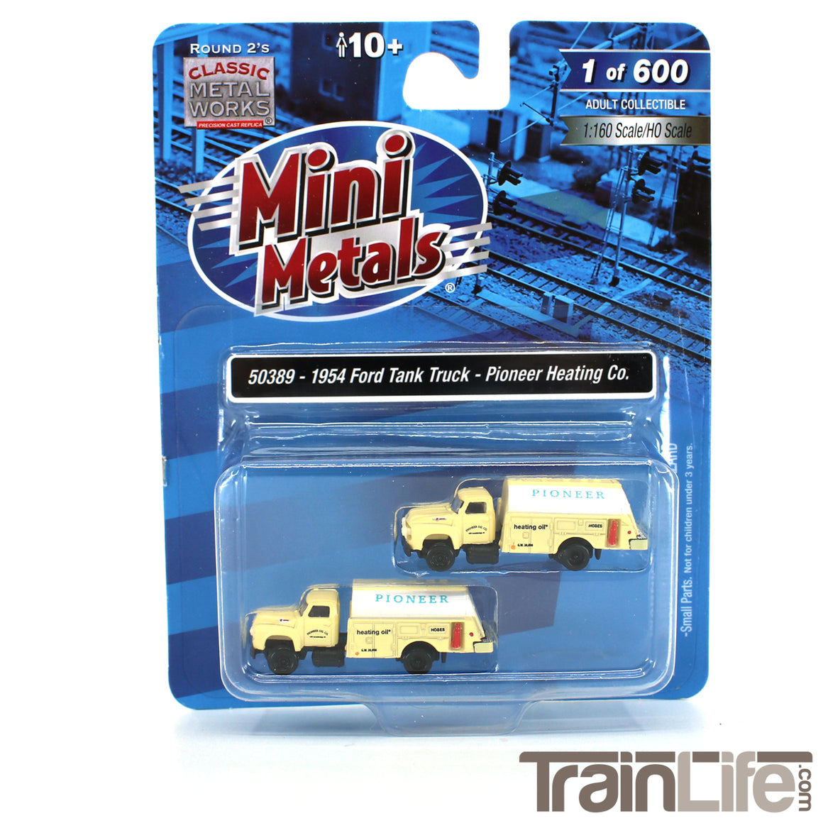 N Scale: 1954 Ford Tank Truck - Pioneer Heating Co. - 2 Pack