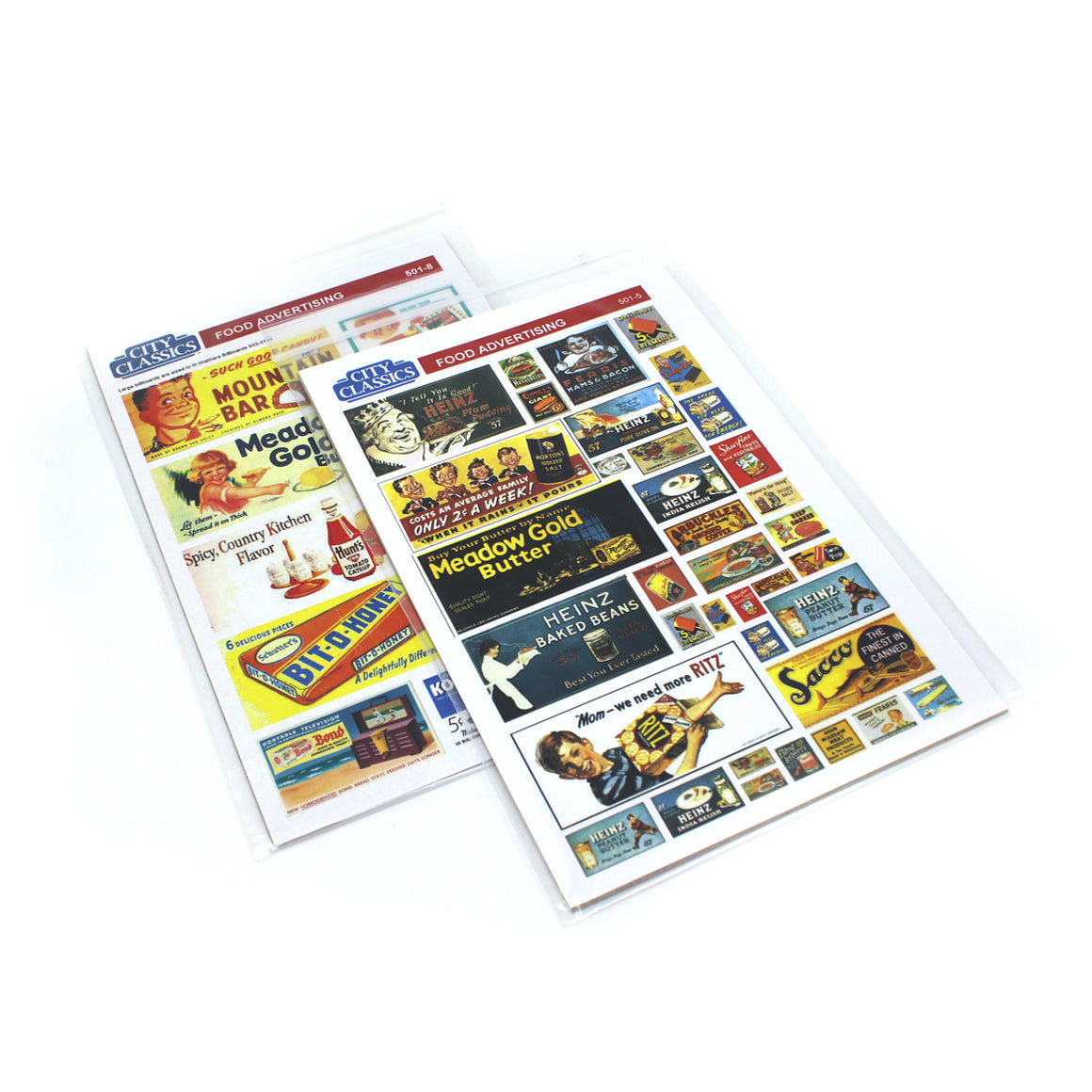 HO Scale: Food Advertising Posters & Billboards