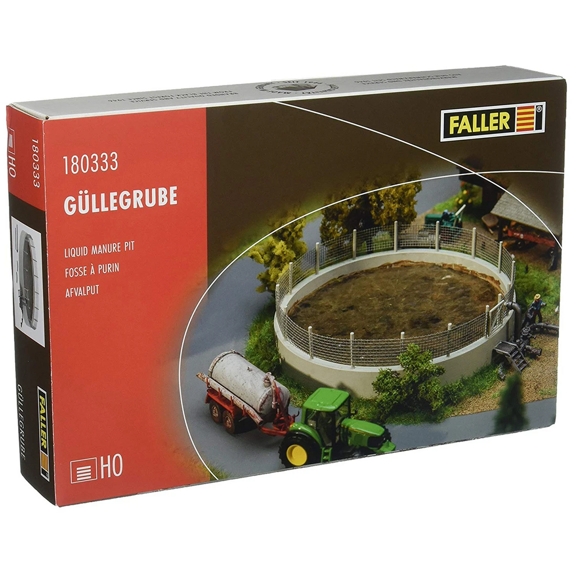 HO Scale: Liquid Manure Pit - Kit