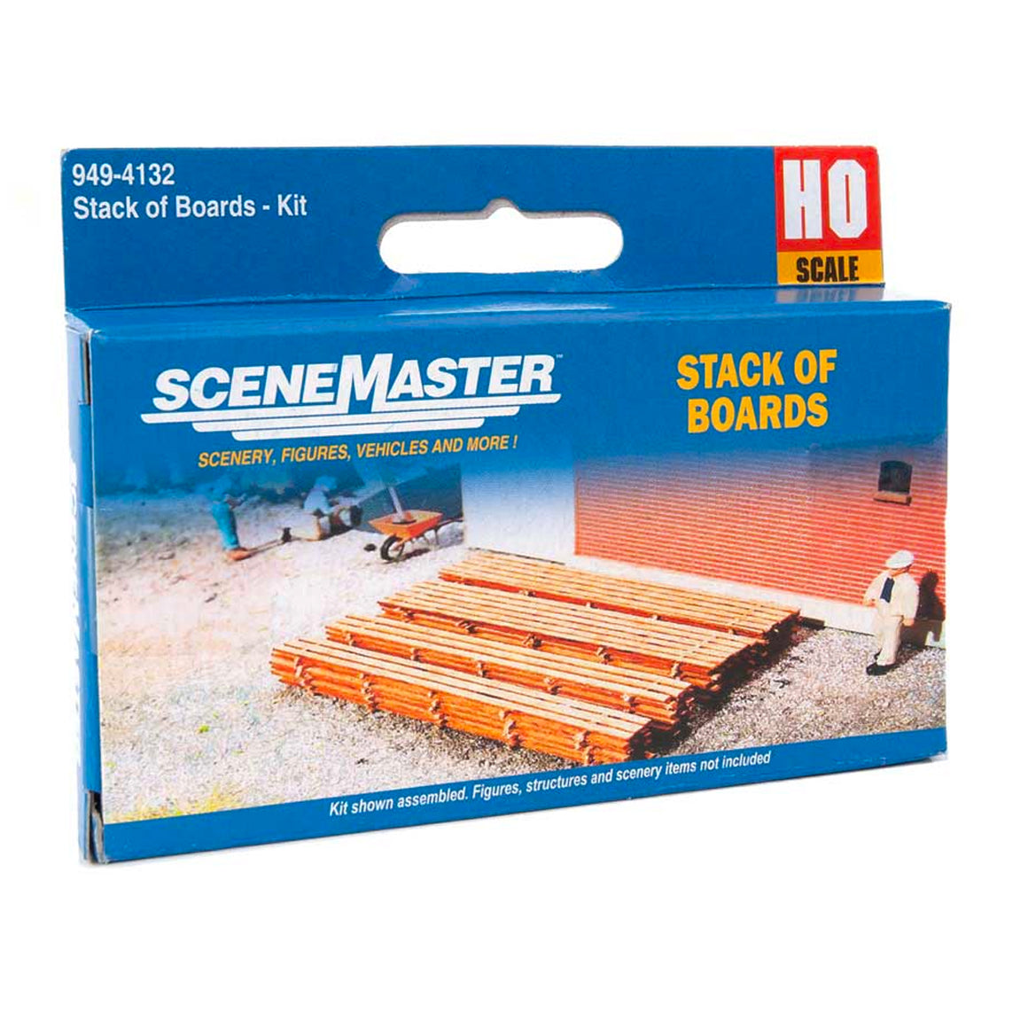 HO Scale: Stacks of Boards - Kit