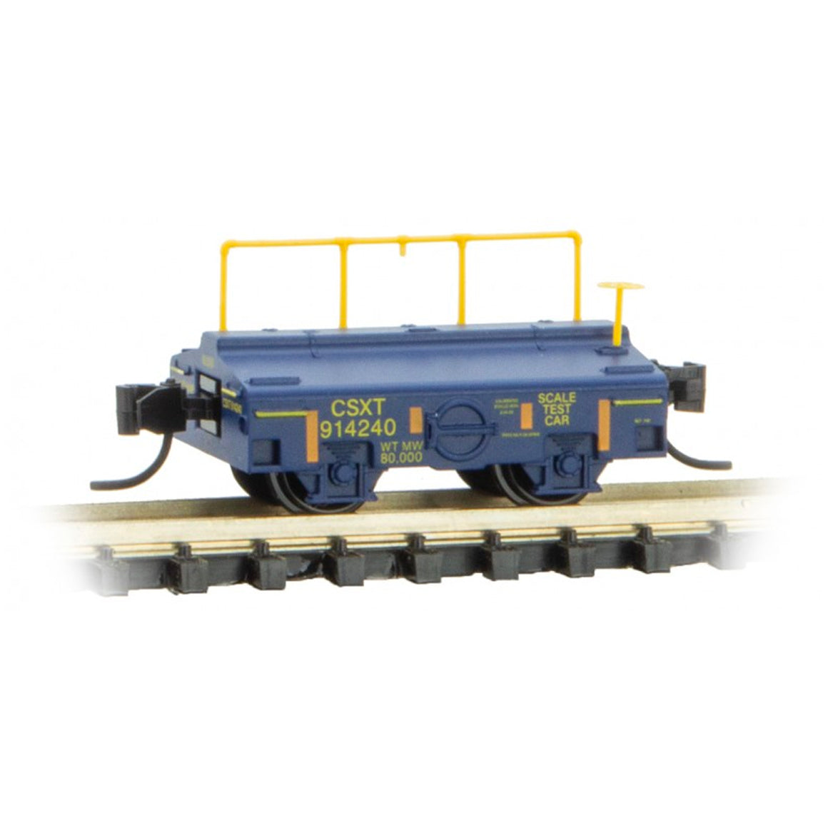 N Scale: Scale Test Car - CSX