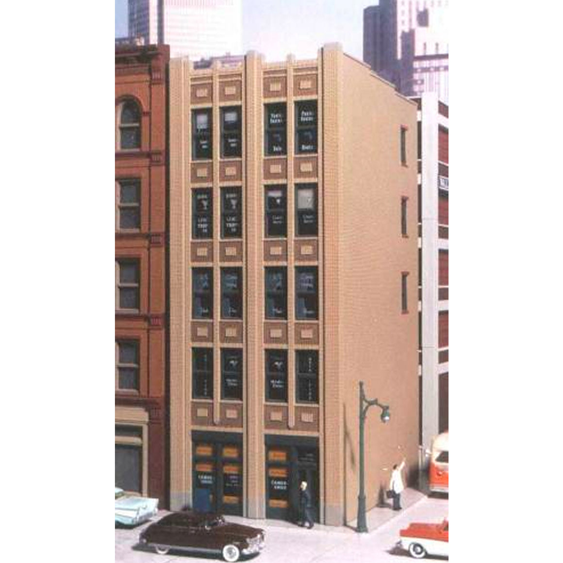 HO Scale: Baum Boulevard Art Deco Building - Kit