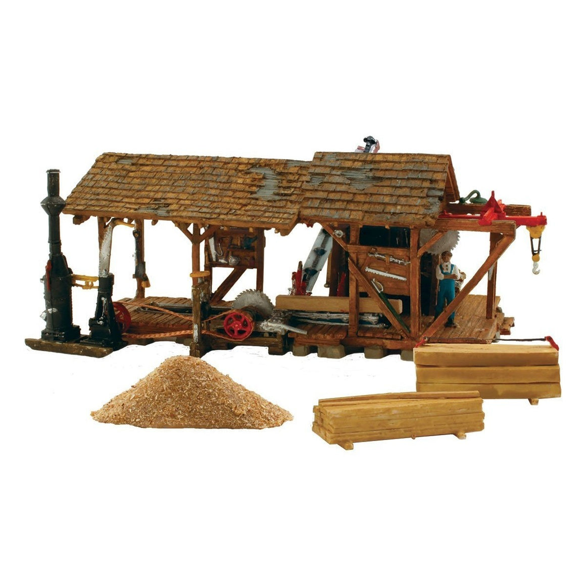 HO Scale: Buzz's Sawmill Kit
