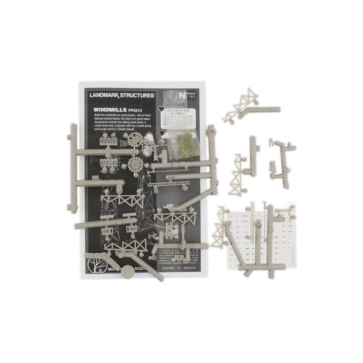 HO Scale: Windmills Kit