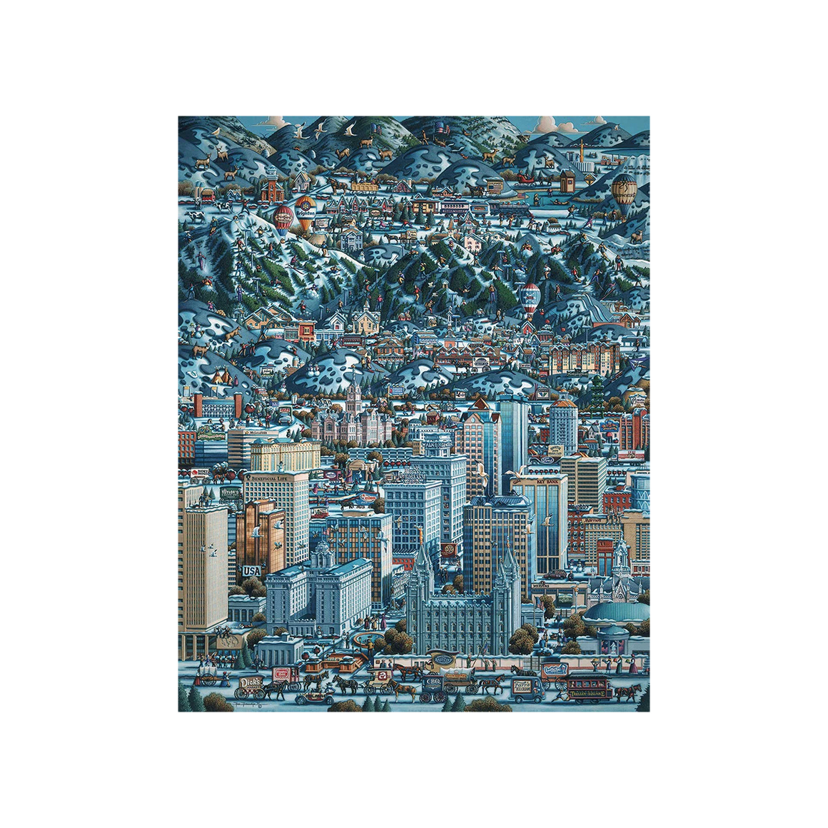Puzzle: Salt Lake Winter - Dowdle