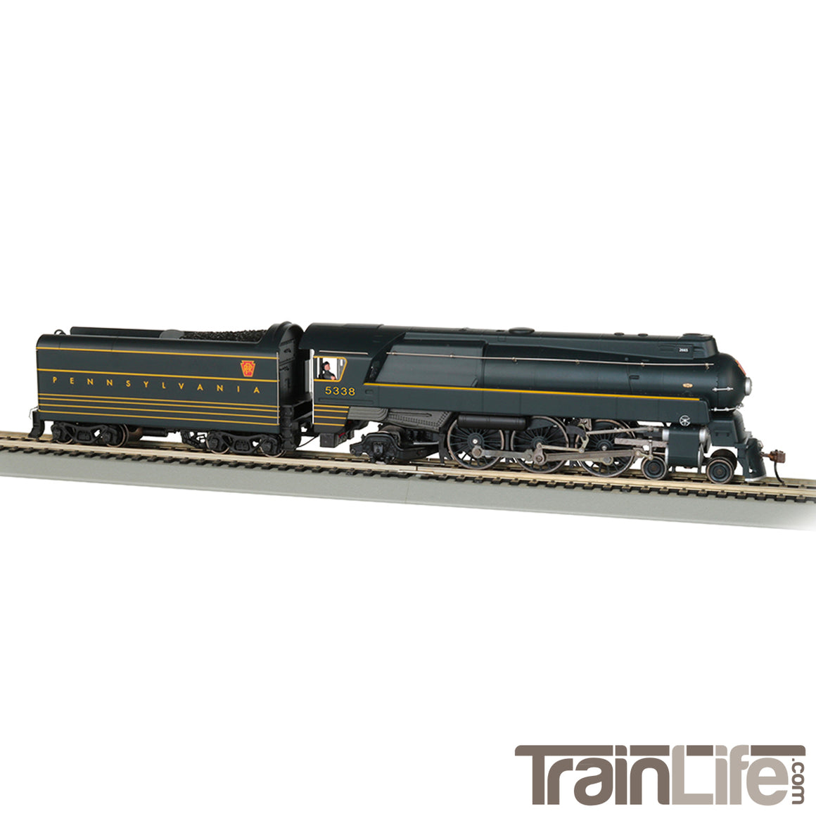 HO Scale: Streamlined K4 4-6-2 - DCC & Sound - PRR