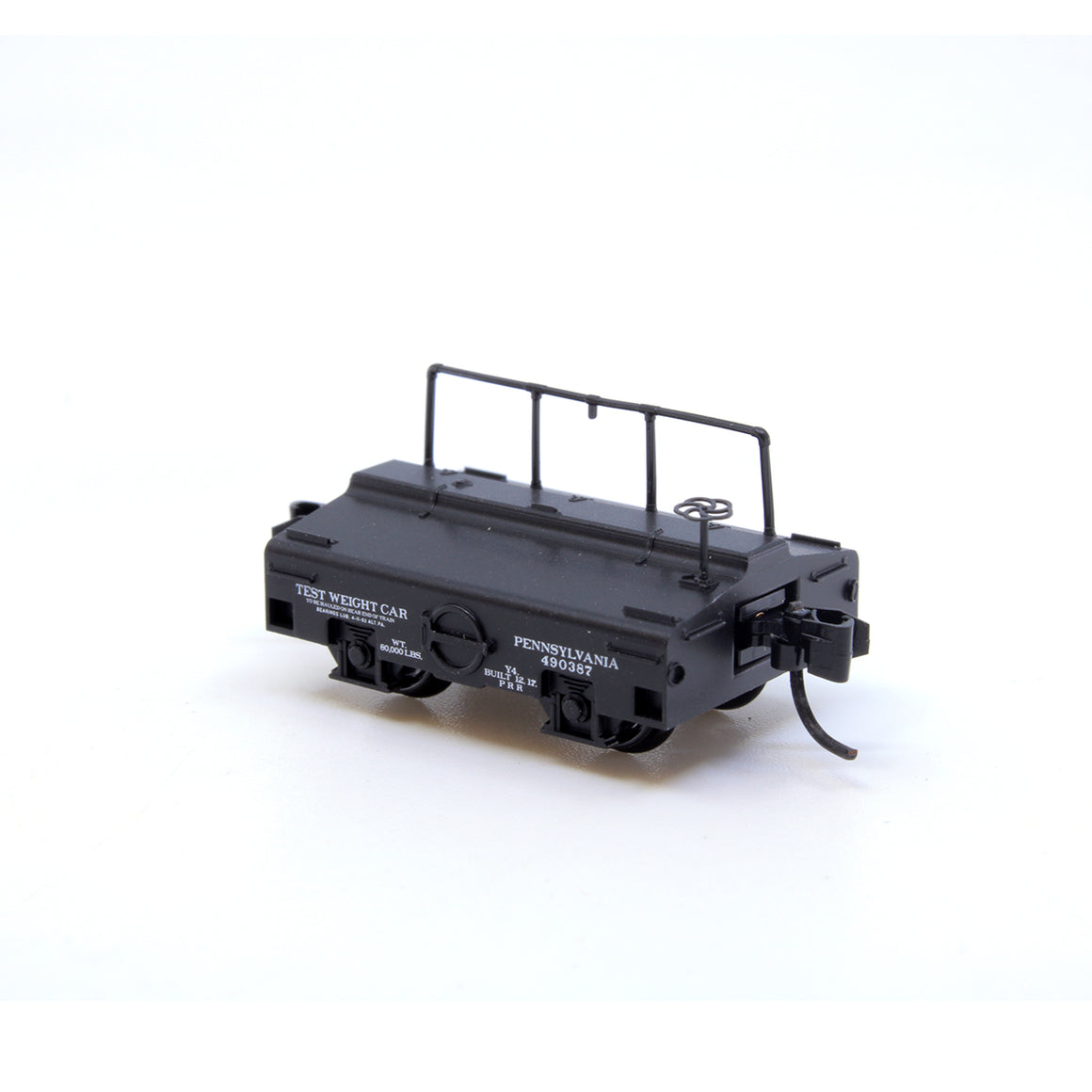 HO Scale: 40' Track Cleaning Plug Door Boxcar - PRR