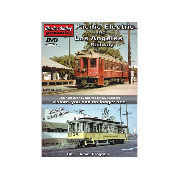 DVD: Pacific Electric and Los Angeles Railway '1940-1963'