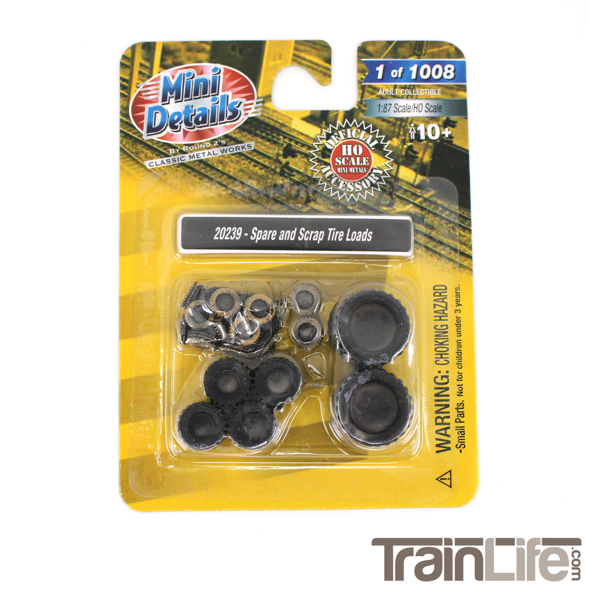 HO Scale: Scrap Tire Truck Loads
