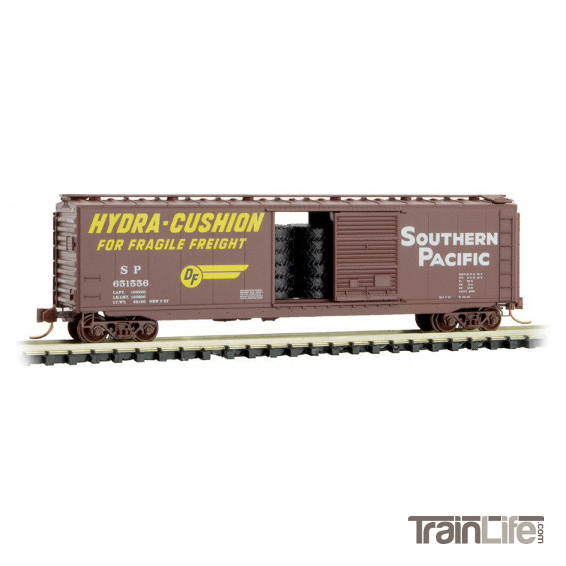 N Scale: 50' Standard Boxcar - Southern Pacific