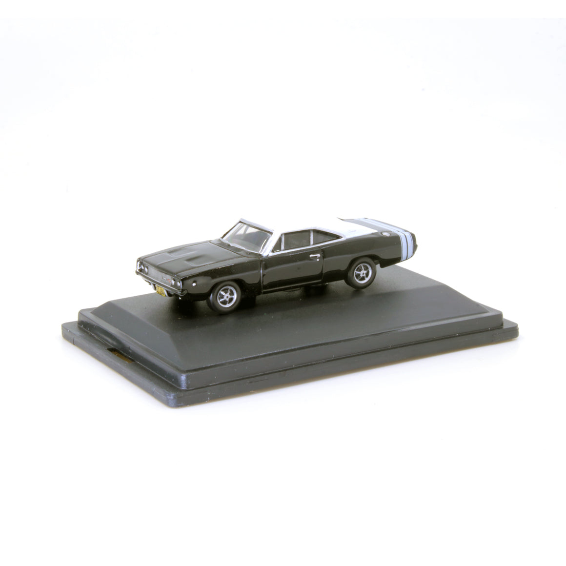 HO Scale: 1968 Dodge Charger - Black/White