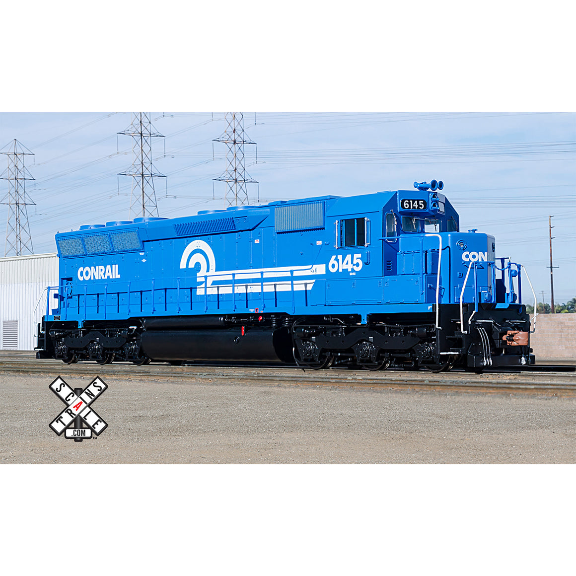 HO Scale: Rivet Counter - EMD SD45 - DCC & Sound - Conrail