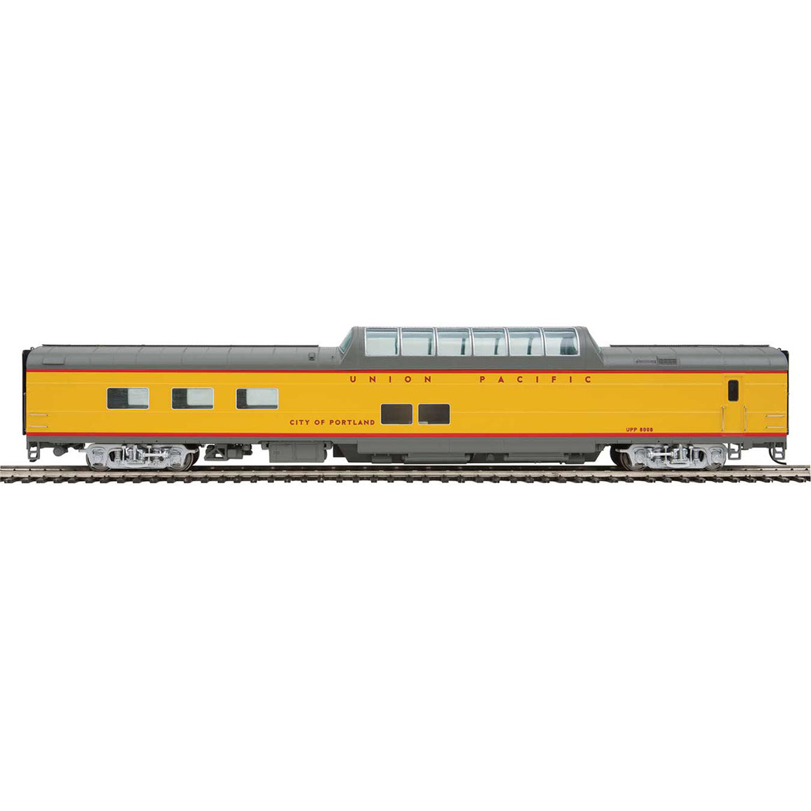 HO Scale: 85' ACF Dome Diner - Union Pacific