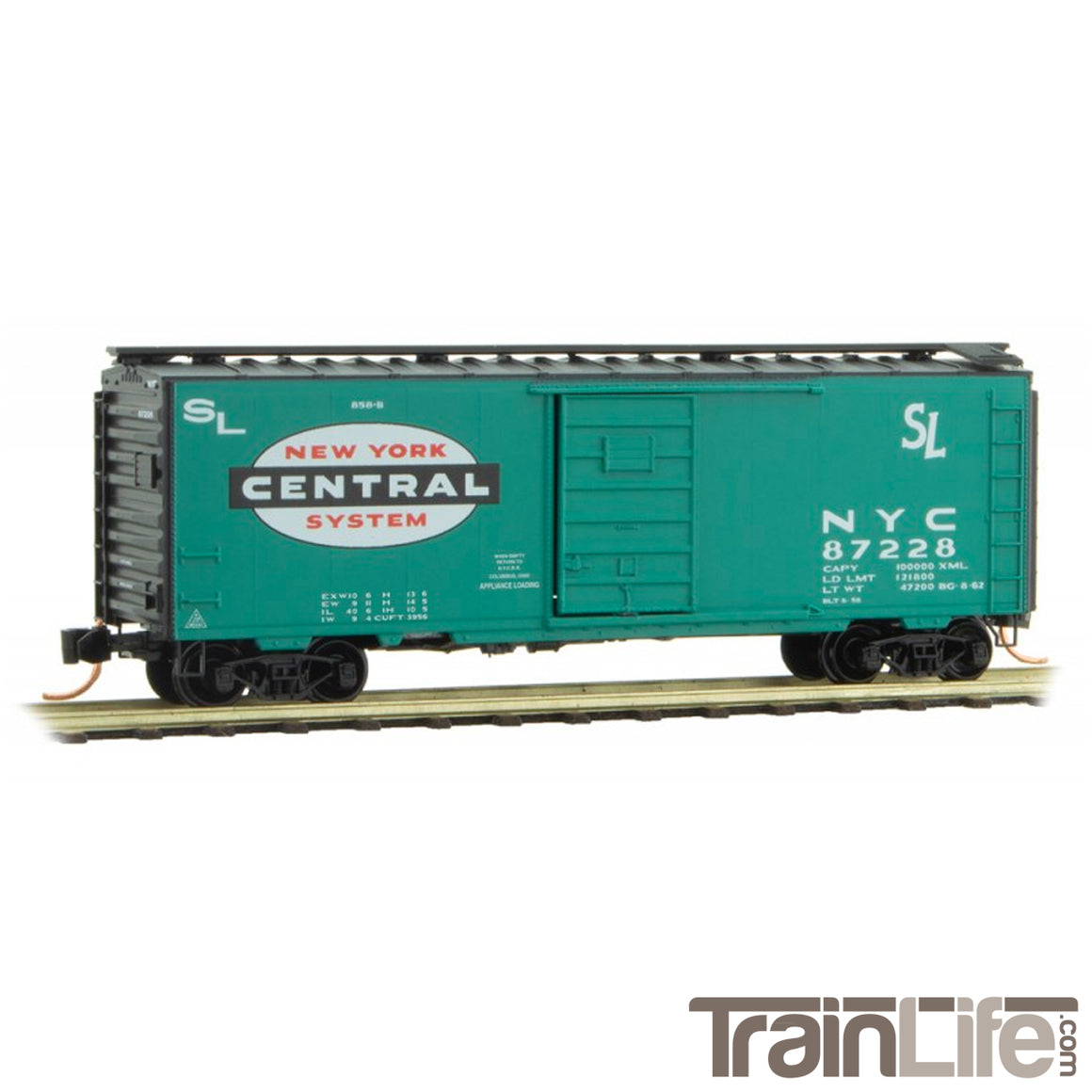 N Scale: 40' Standard Boxcar - NYC