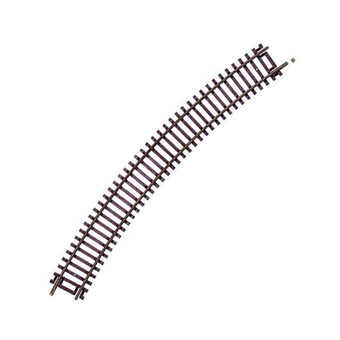"HO Scale: Code 83 Snap Track - 18"" Radius Curves"