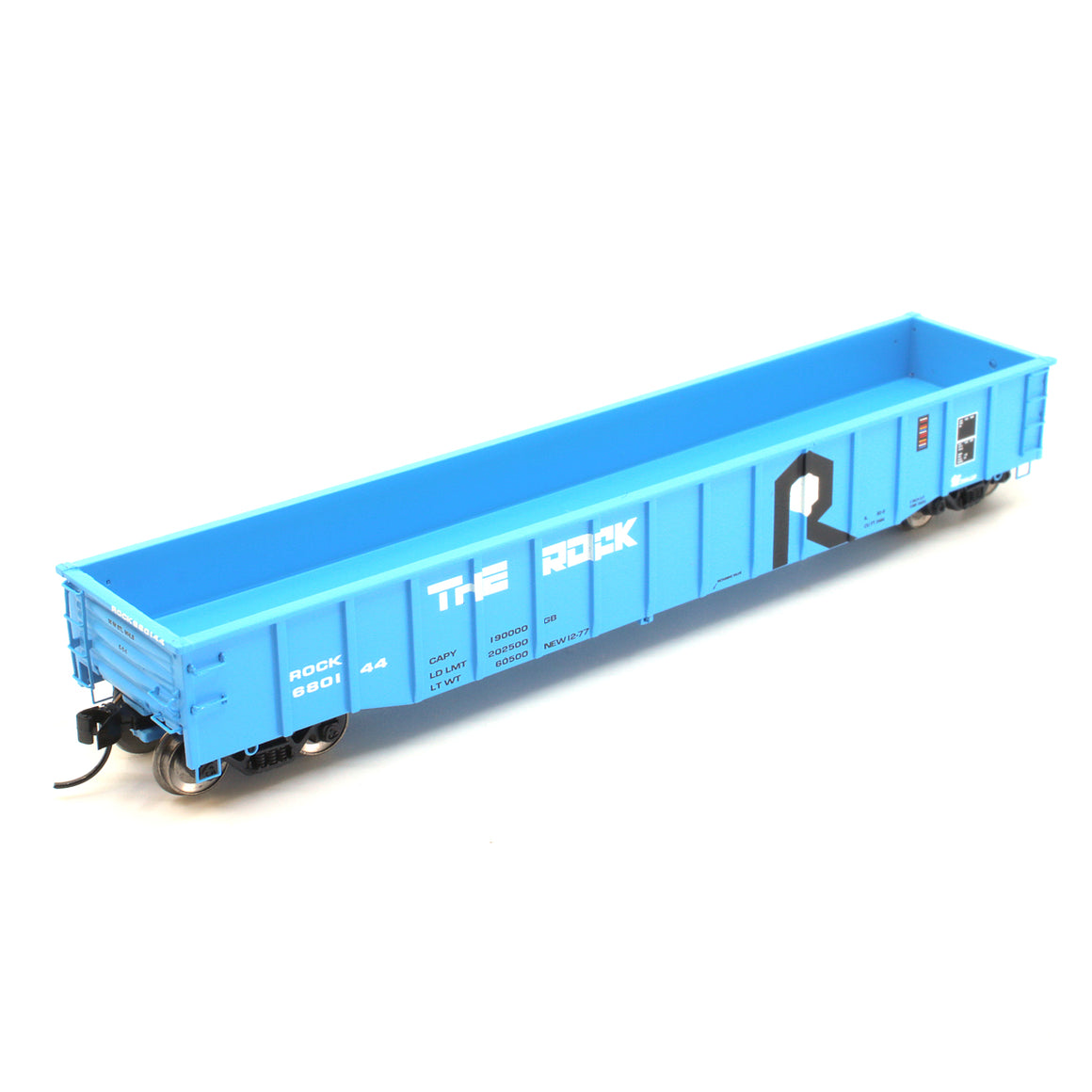 "N Scale: Thrall 52' 6"" Steel Gondola - Rock Island 'Blue'"