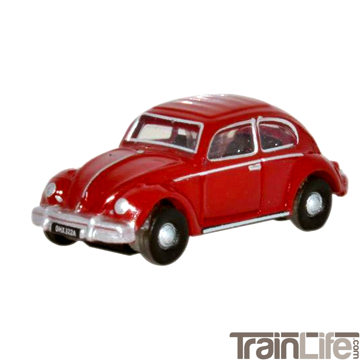 N Scale: Volkswagen Beetle - Ruby Red