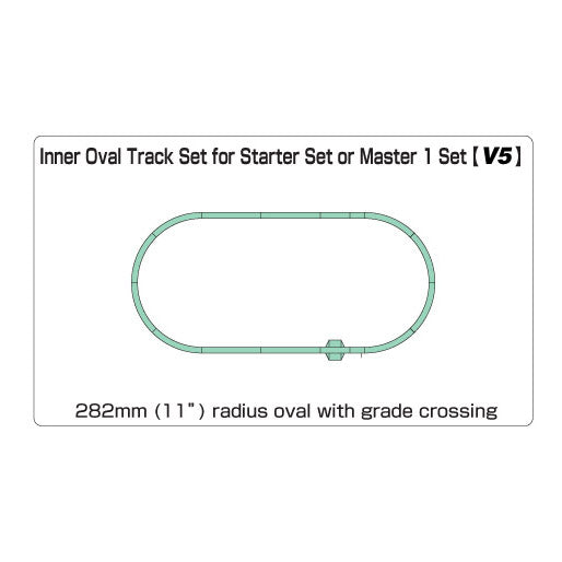 N Scale: Unitrack Starter Set V5 - Inside Loop Track