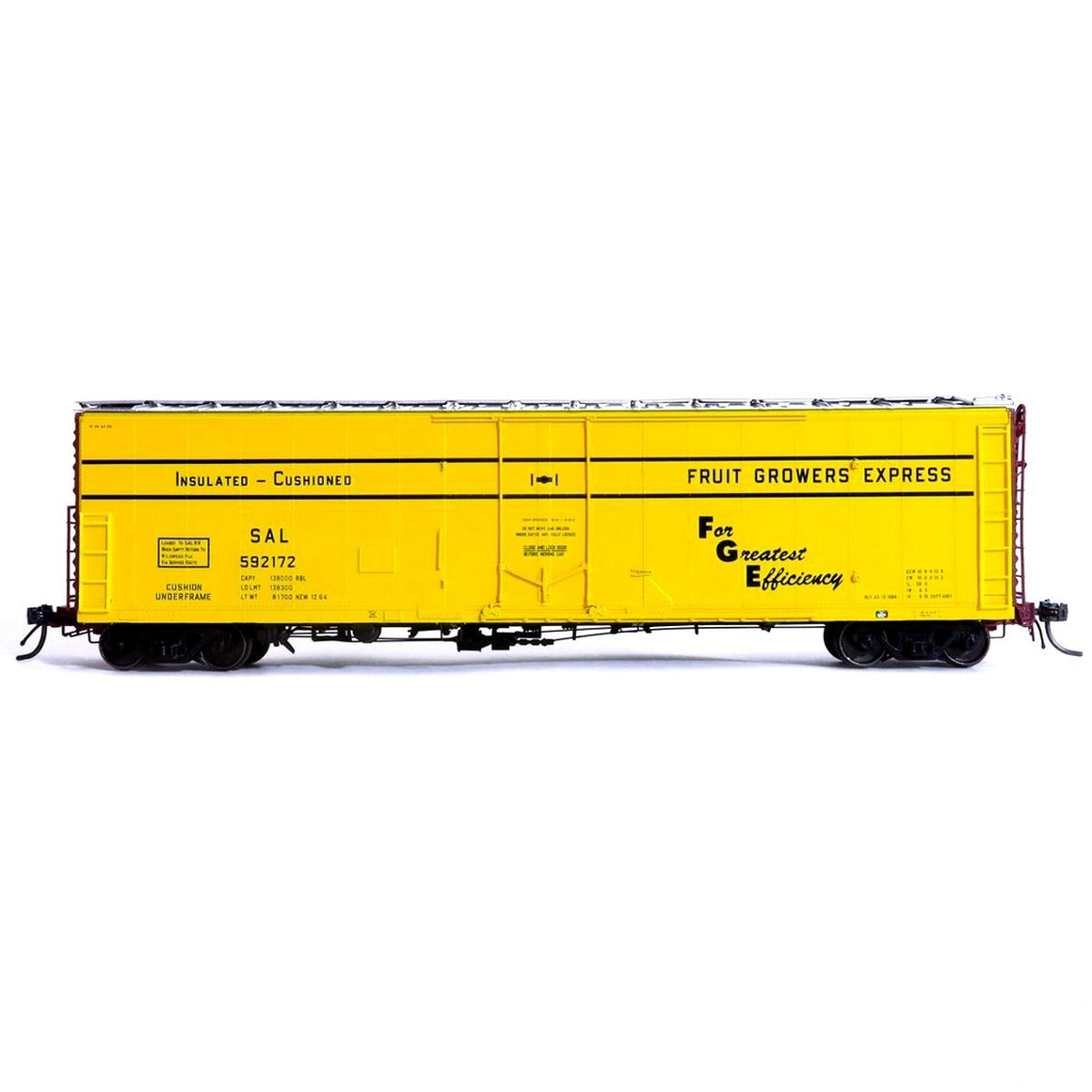 HO Scale: FGE Plate B Insulated Boxcar - SAL '12-64 Delivery'