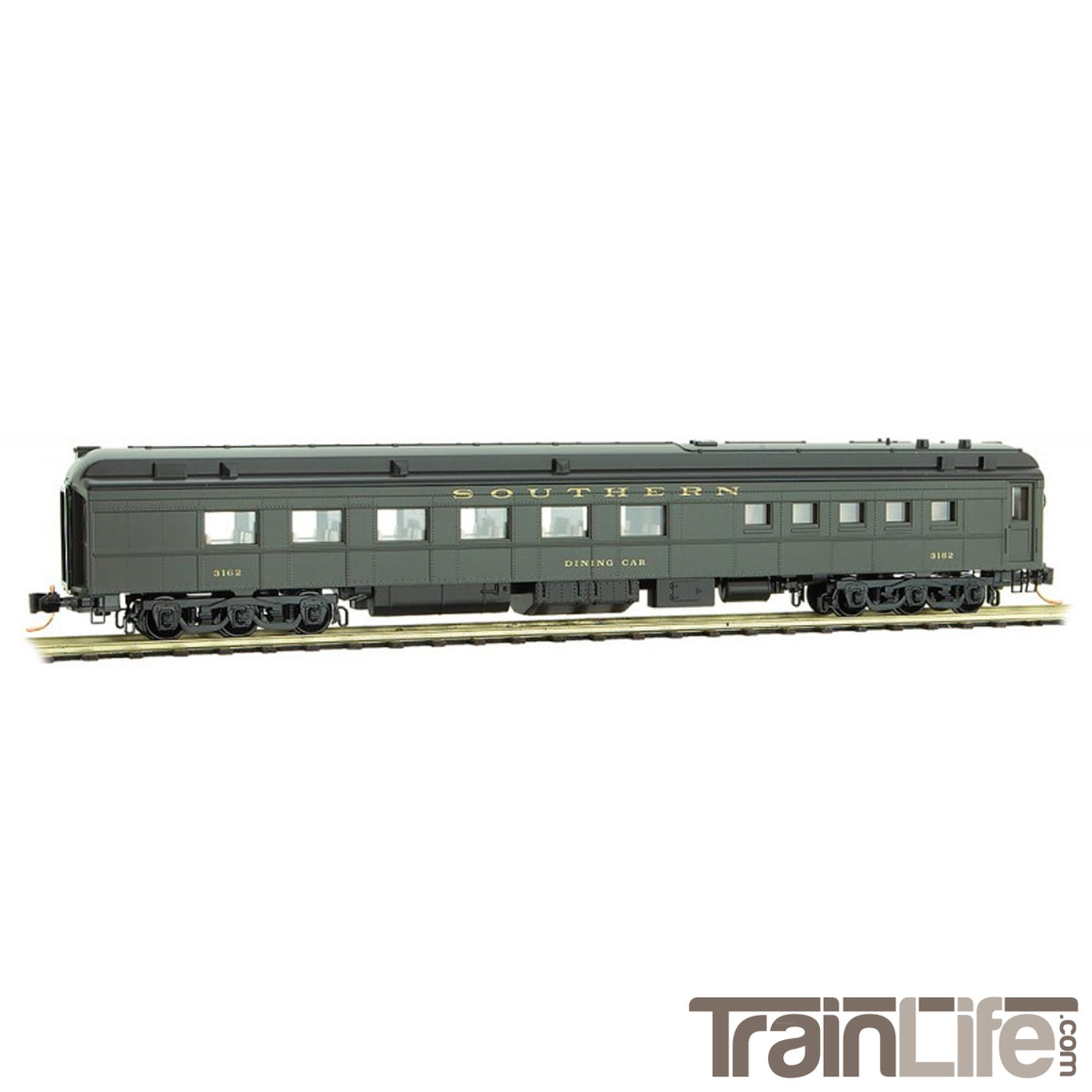 N Scale: 70' Heavyweight Diner Car - SOU
