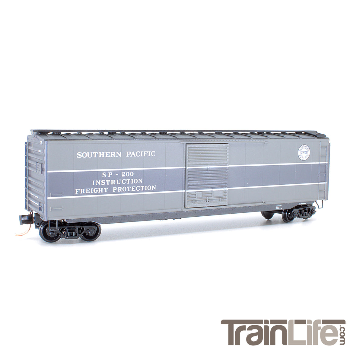 N Scale: 40' Standard Boxcar - Southern Pacific 'Impact Car'