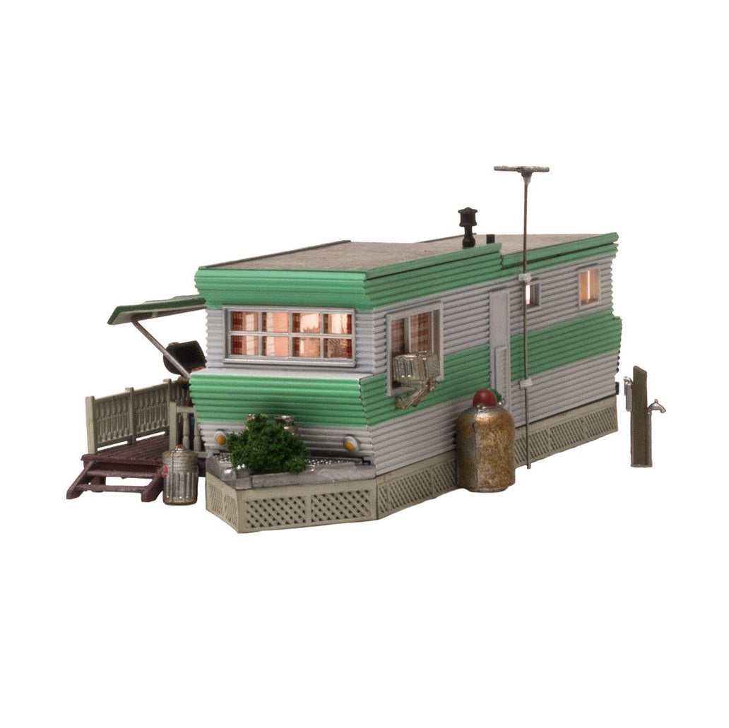 N Scale: Grillin' & Chillin' Trailer