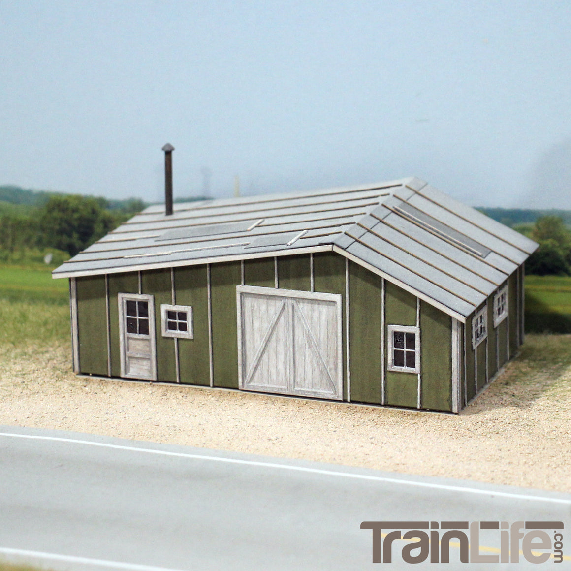 HO Scale: Sonny's Shack