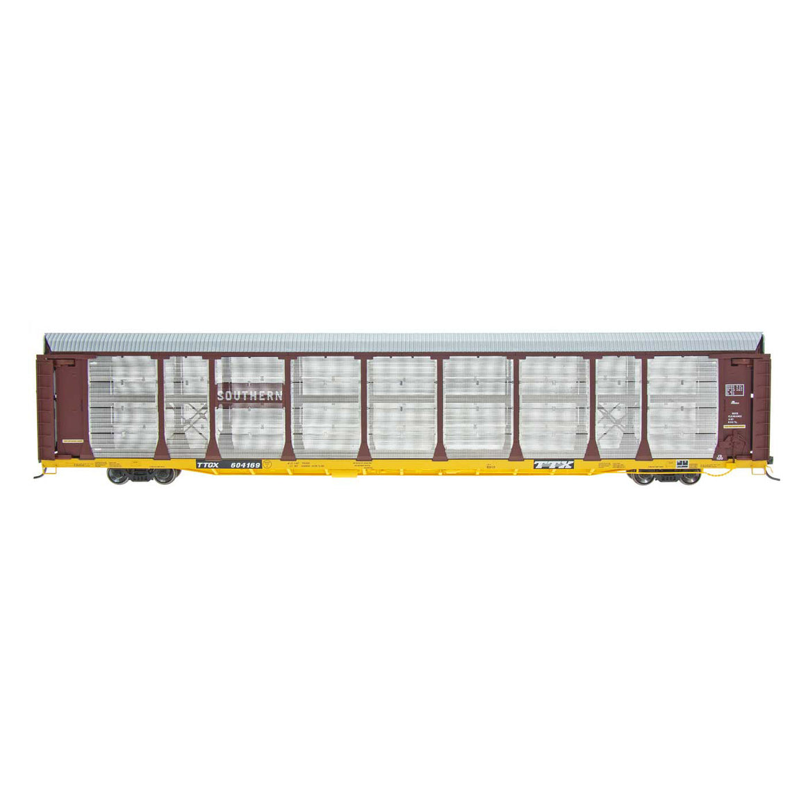 HO Scale: Bi-Level Auto Rack - Southern